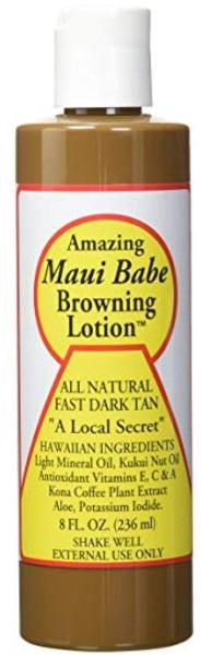 Maui Babe Outdoor Tanning Lotion