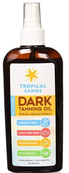 Tropical Sands Tanning Oil
