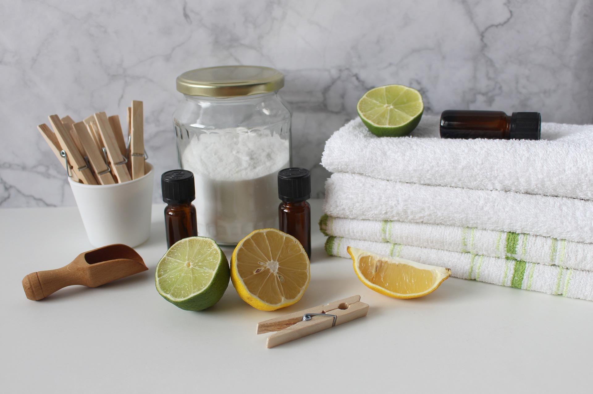 Exfoliating your skin with baking soda