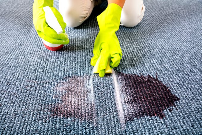 Stained Carpet: How To Effectively Clean It Without Discoloring It