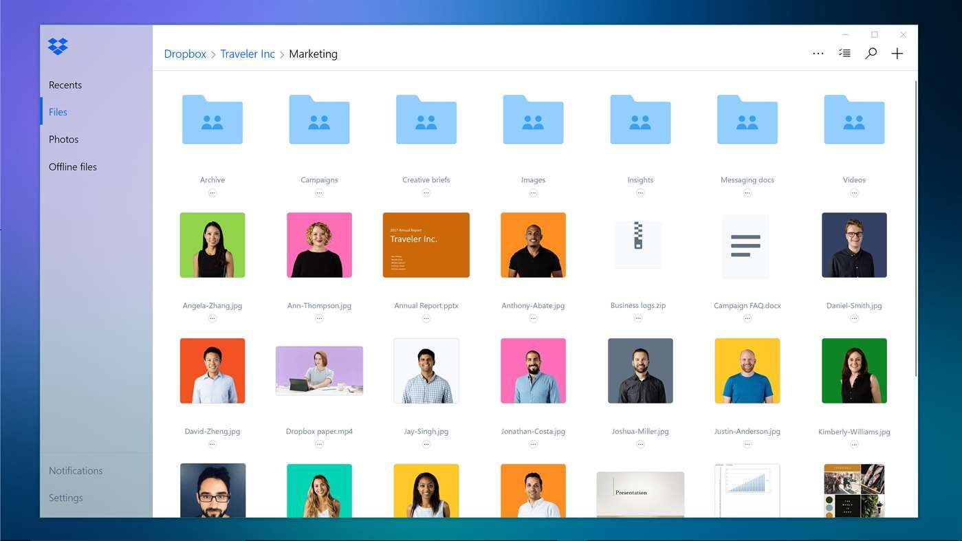 Store Files in a Personal Cloud with the Dropbox App
