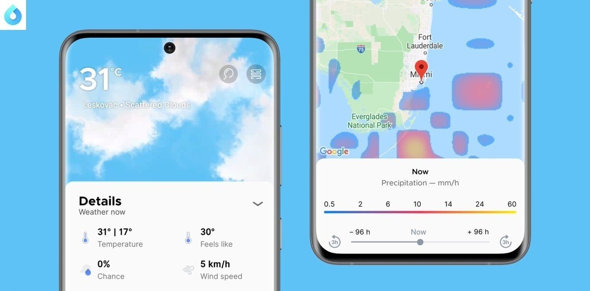Learn How to See Rain Forecasts in the Overdrop App