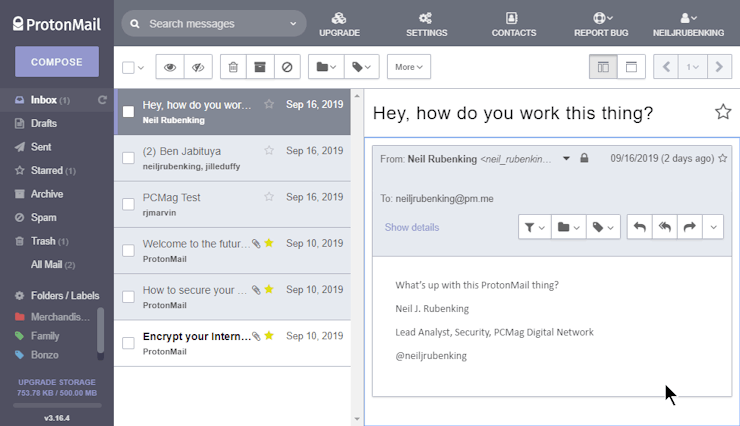 Learn How To Have More Email Security By Downloading ProtonMail