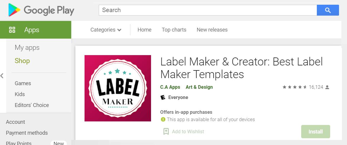 Label Maker & Creator - Make The Best Templates