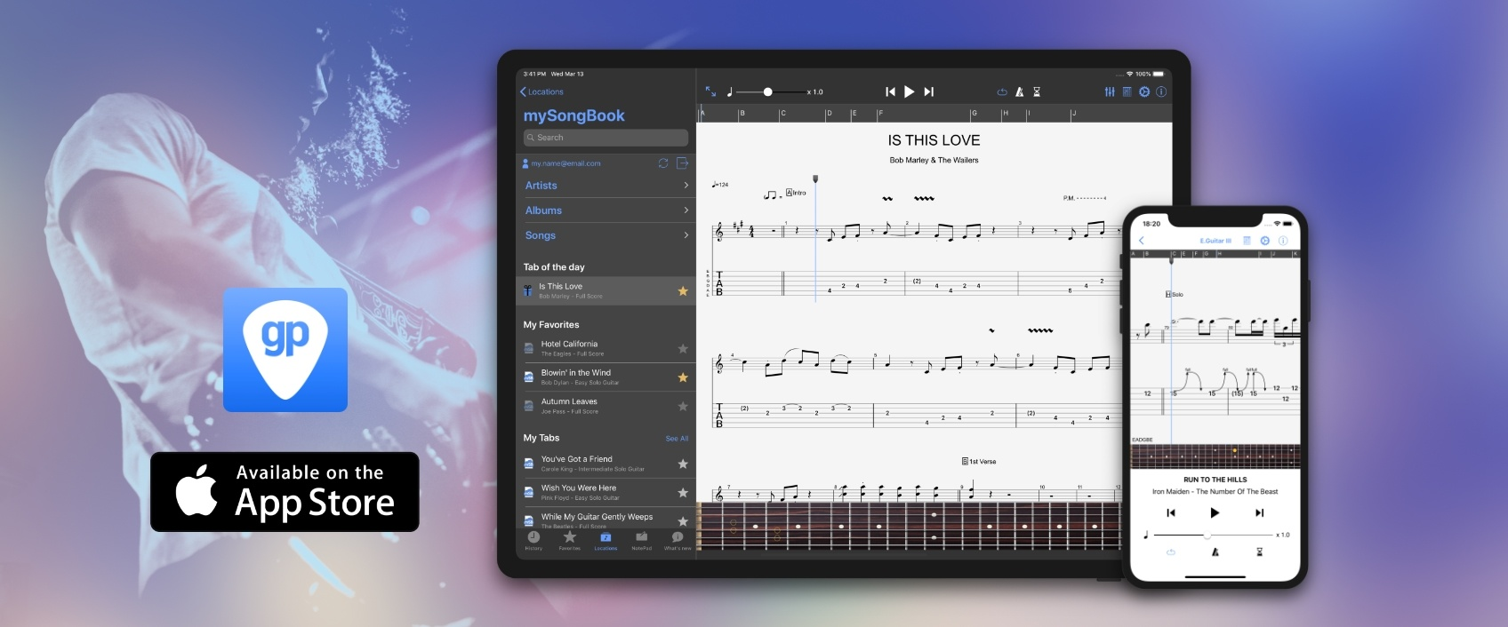 Guitar Pro – Easily Play, View, and Write Chords